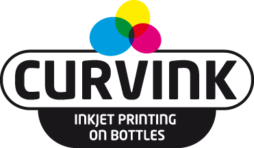 The original Curvink brand for inkjet printing on bottles.